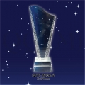 CRYSTAL AWARD TROPHY