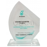 Crystal Award Plaque/Crystal Plak