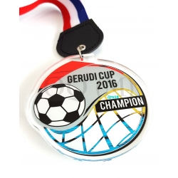 Custom Acrylic Medals-Football